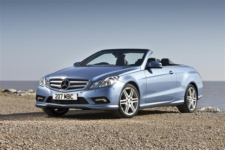 New Mercedes-Benz E-Class Cabriolet (2010 - 2013) review
