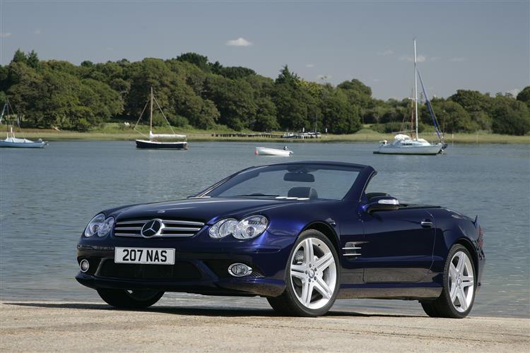 New Mercedes-Benz SL (2008 - 2012) review