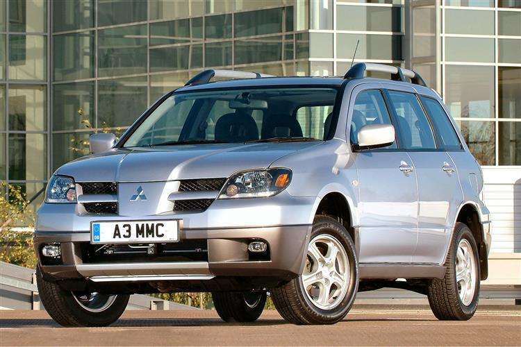 New Mitsubishi Outlander (2003 - 2007) review