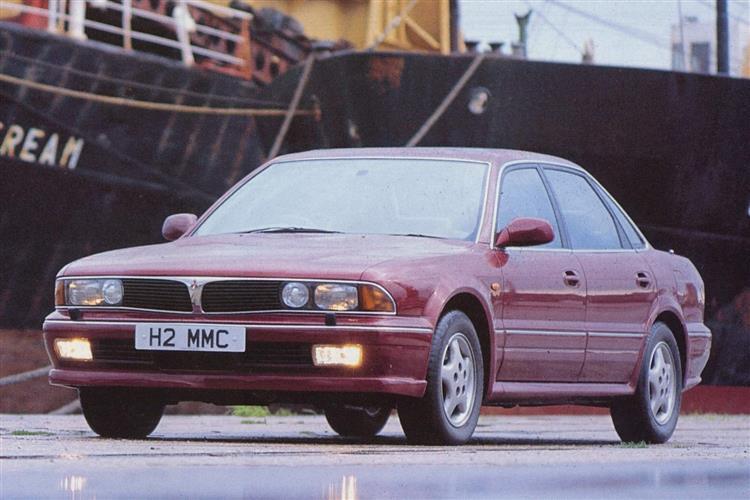 New MitsubishiI Sigma (1991 - 1996) review