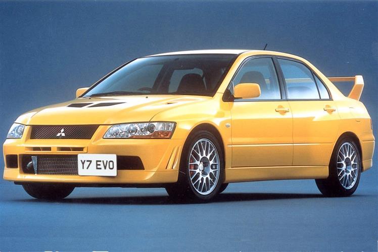 New Mitsubishi Lancer Evo VII (2001 - 2003) review