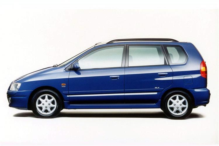 New Mitsubishi Colt Space Star (1998 - 2002) review