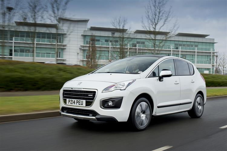 New Peugeot 3008 HYbrid4 (2011 - 2016) review