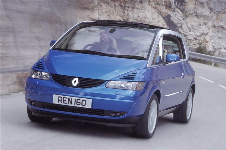 New Renault Avantime (2002 - 2003) review