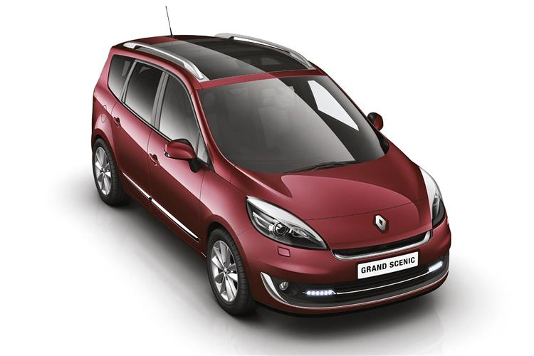 New Renault Grand Scenic (2012 - 2013) review