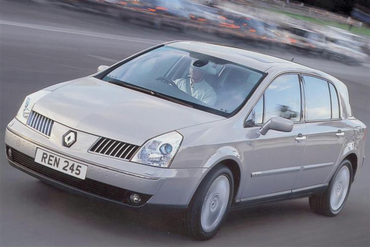New Renault Vel Satis (2002 - 2005) review