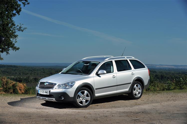 New Skoda Octavia Scout (2009 - 2013) review