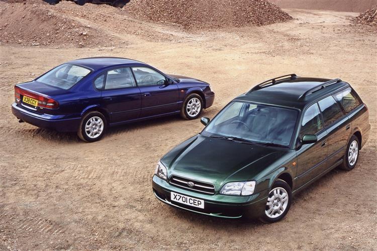 New Subaru Legacy (1999 - 2003) review
