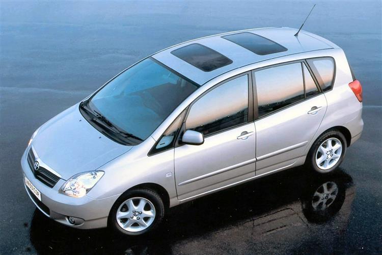 New Toyota Corolla Verso (2001 - 2004) review