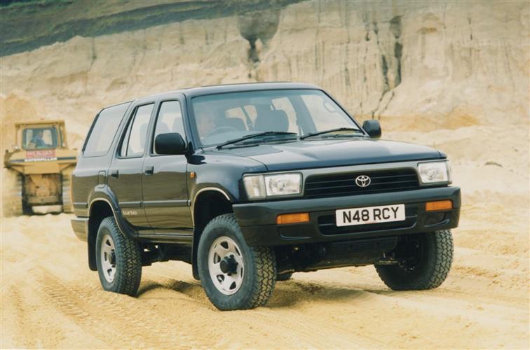 New Toyota 4 - Runner (1993 - 1996) review