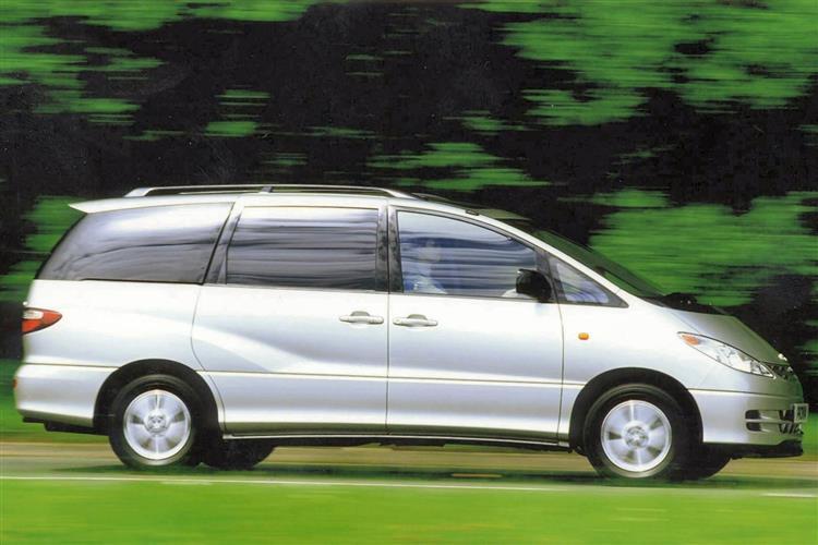 New Toyota Previa (2000 - 2008) review